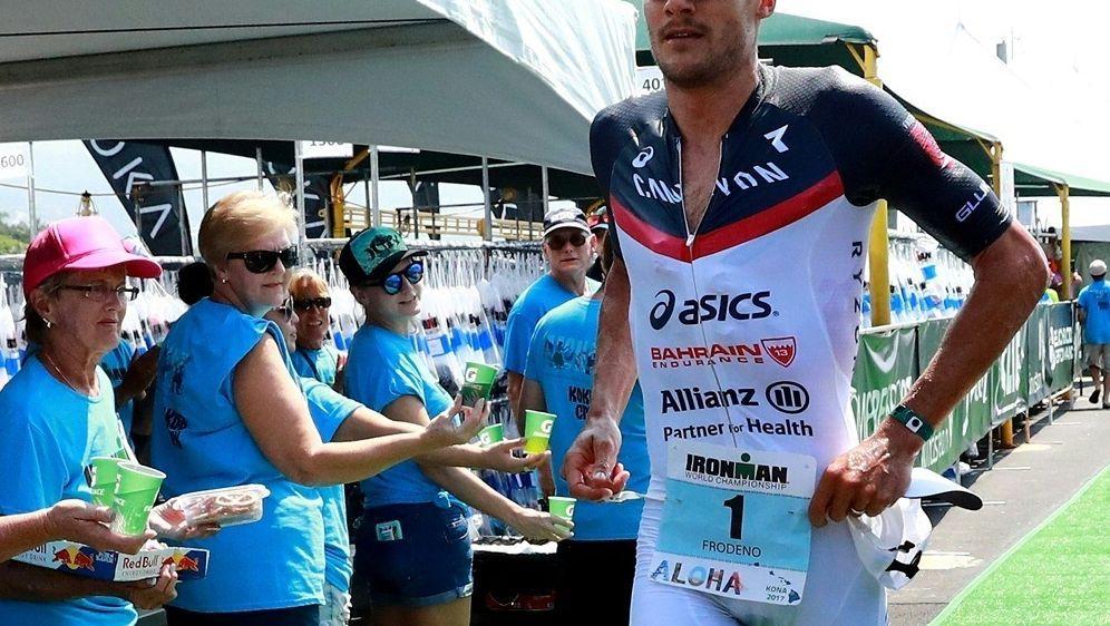 Frodeno wird nicht aktiv am Ironman-Hawaii teilnehmen - Bildquelle: AFPSIDTOM PENNINGTON