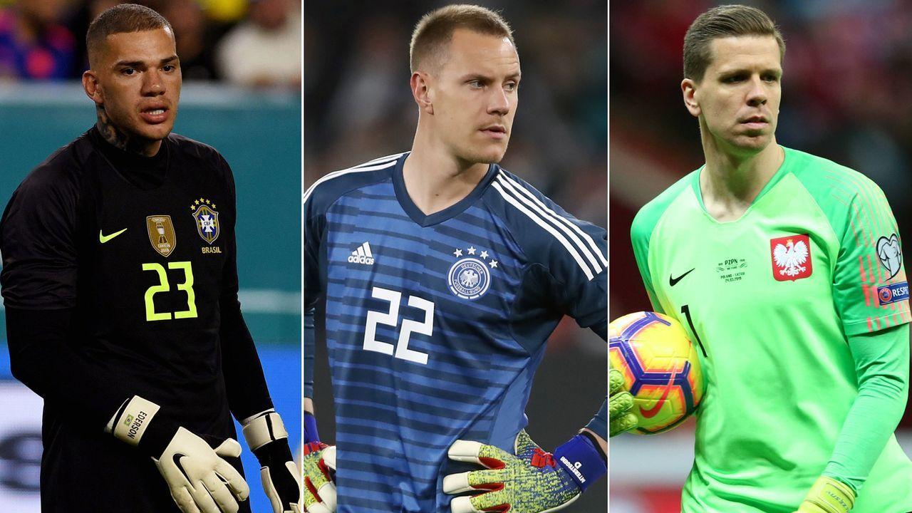 Wie ter Stegen: Auch diese Weltklassekeeper sind im Nationalteam nur die Nummer 2 - Bildquelle: Getty Images/Imago