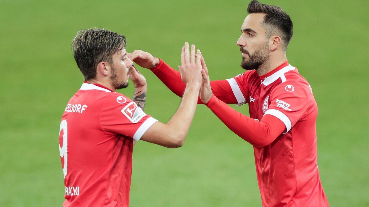 Fortuna Düsseldorf (zwei Spieler) - Bildquelle: imago images/RHR-Foto