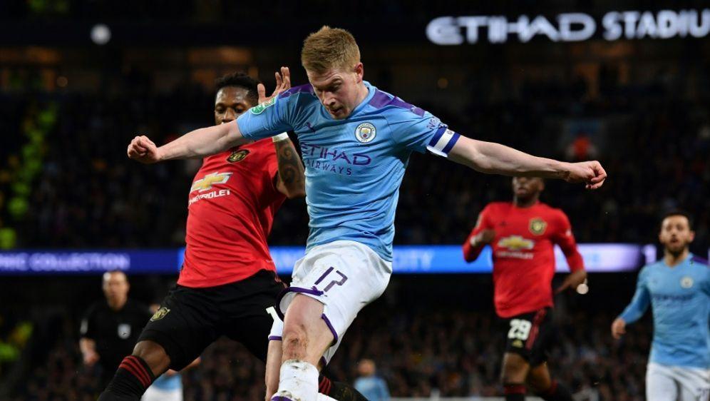 Manchester City trotz Pleite im Ligapokal-Finale - Bildquelle: AFPSIDPaul ELLIS