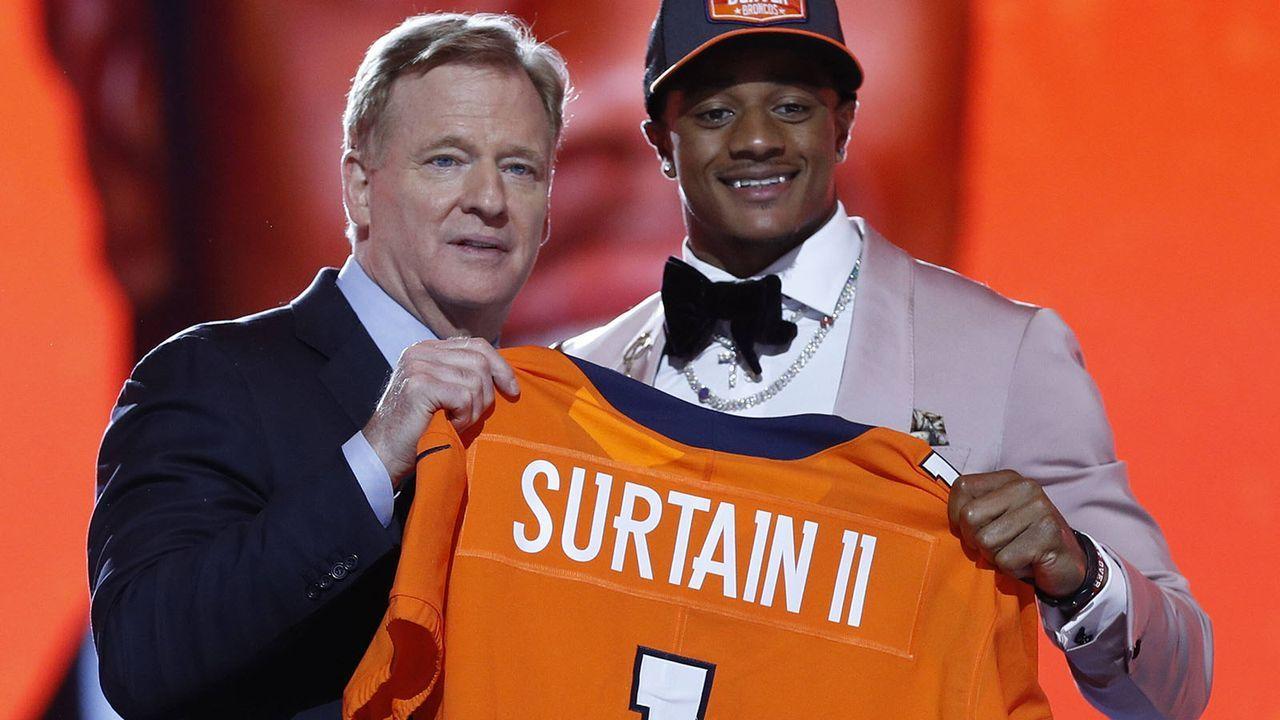 Patrick Surtain II (Cornerback/Denver Broncos) - Bildquelle: imago images/UPI Photo