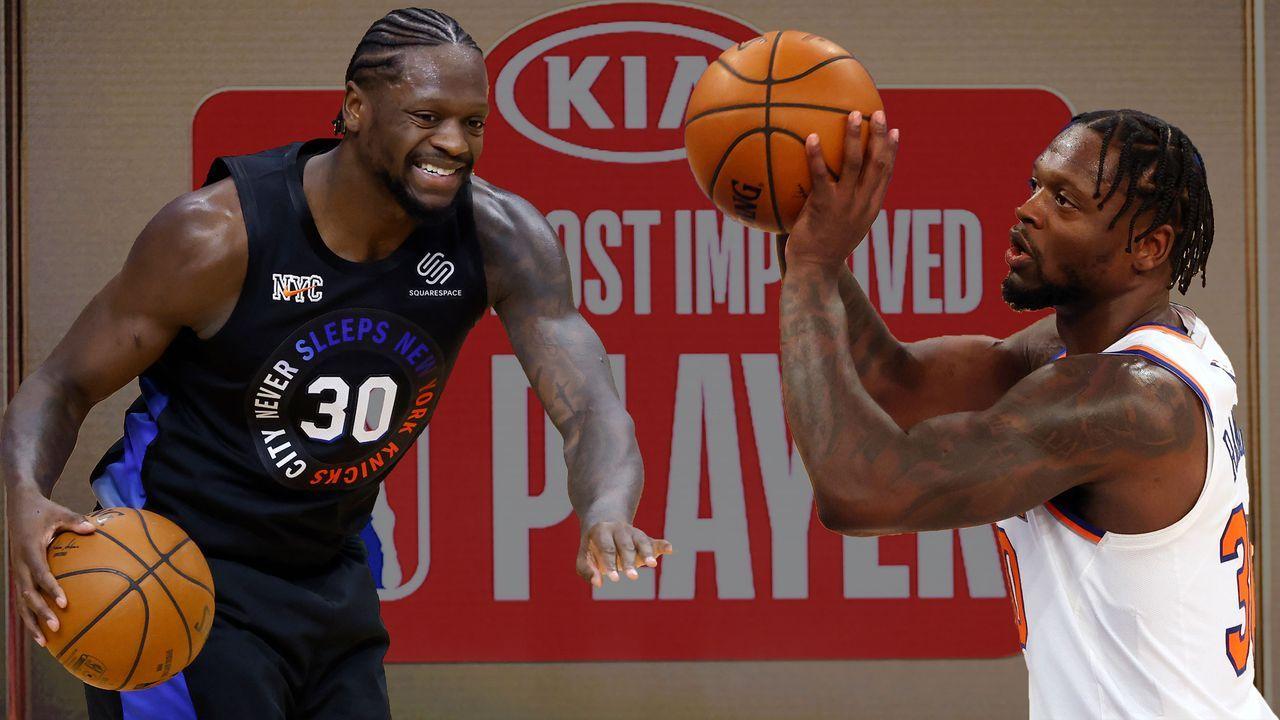 Most Improved Player: Julius Randle (New York Knicks) - Bildquelle: 2019 Getty Images