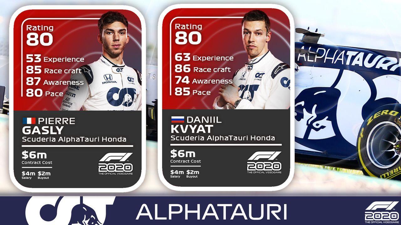 AlphaTauri - Bildquelle: F1/Twitter