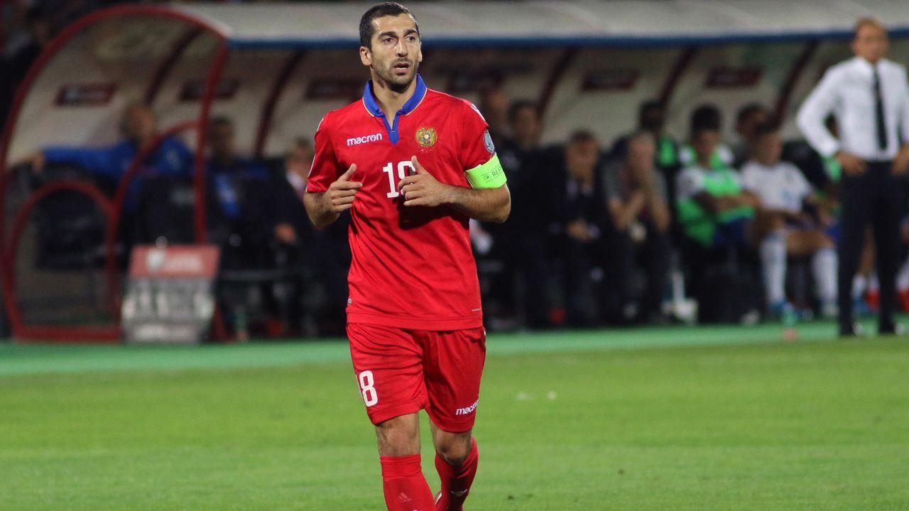 Henrikh Mkhitaryan (Armenien) - Bildquelle: imago images/Hrachya Khachatryan