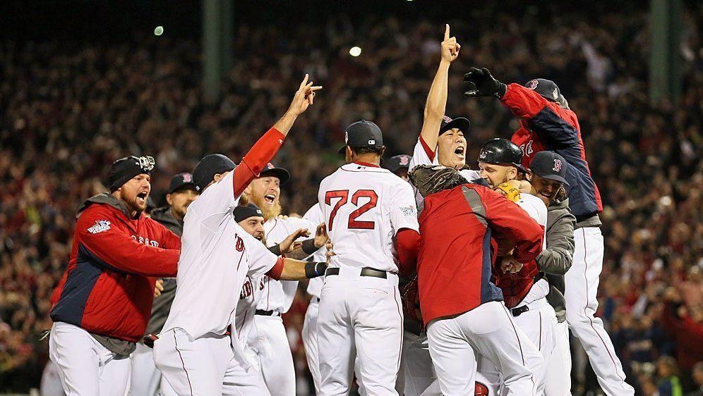 Die achte Meisterschaft für die Boston Red Sox - Bildquelle: SID-AFPGETTY