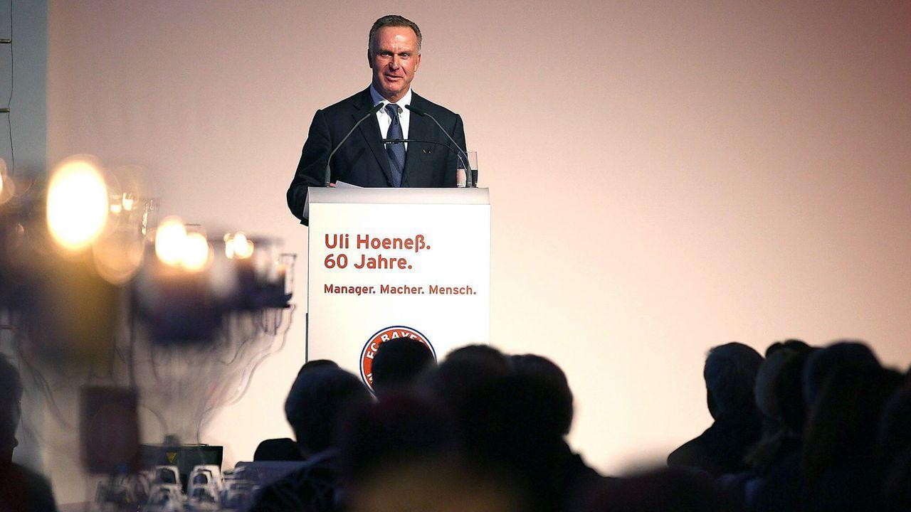Gratulation zum 60. Geburtstag von Uli Hoeneß - Bildquelle: imago sportfotodienst