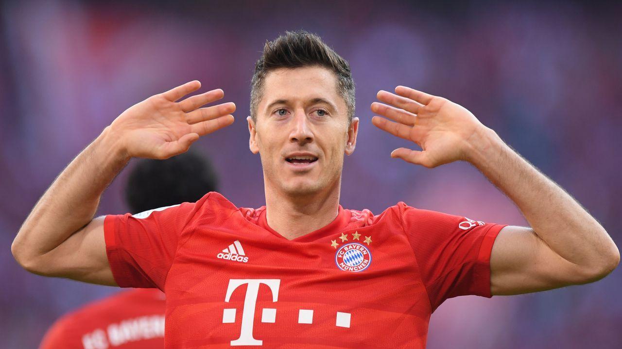 Platz 3: Robert Lewandowski (FC Bayern München)  - Bildquelle: getty