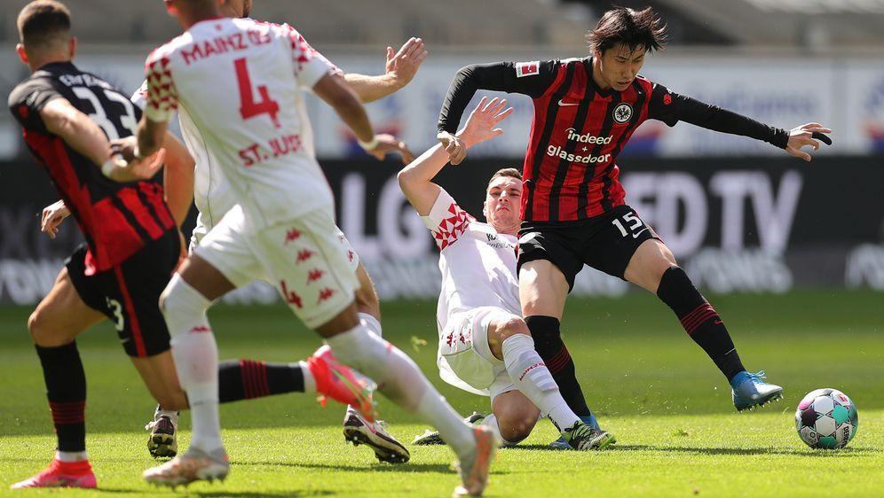 Mainz 05 holt bei Eintracht Frankfurt einen Punkt - Bildquelle: Getty Images