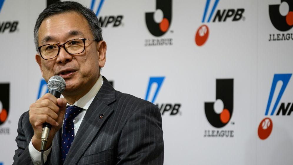 Liga-Chef Mitsuru Murai verkündet neuen J-League-Termin - Bildquelle: AFPSIDPHILIP FONG