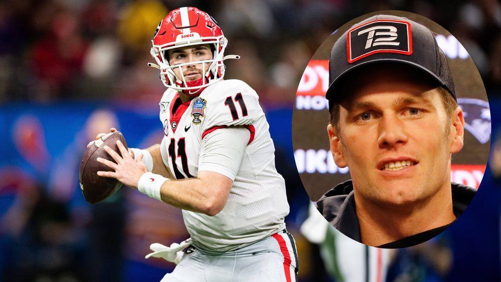 Jake Fromm könnte von den New England Patriots gepickt werden und die Nachfo... - Bildquelle: imago images/ZUMA Press