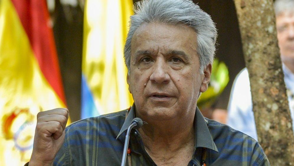 Ecuadors Präsident Lenin will Bewerbung für WM 2030 - Bildquelle: AFPSIDRAUL ARBOLEDA