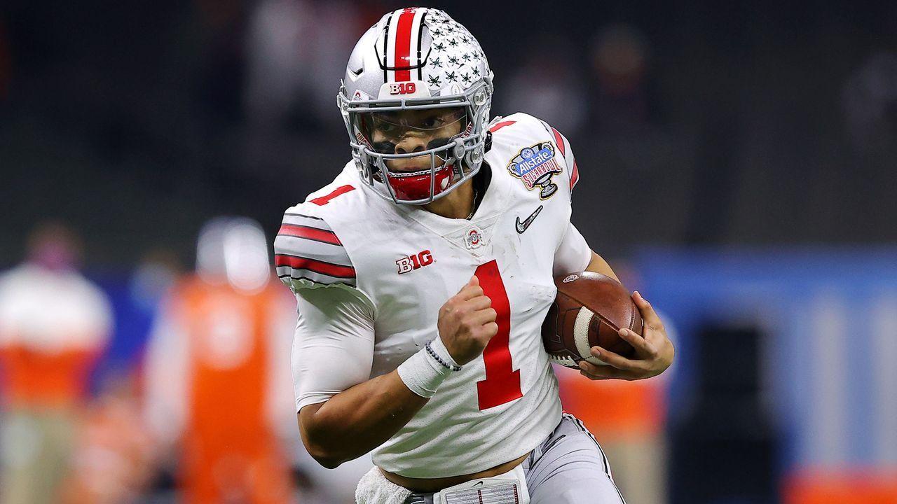 Justin Fields (Ohio State Buckeyes) - Bildquelle: 2021 Getty Images