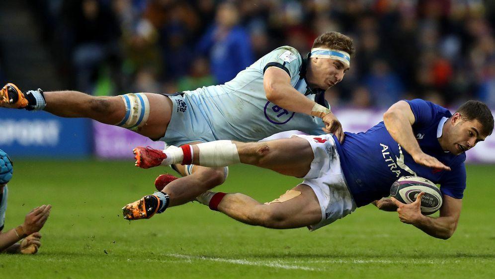 Voller Einsatz für das große Ziel: Schottland (hier: Jamie Ritchie, l.) und ... - Bildquelle: Getty Images