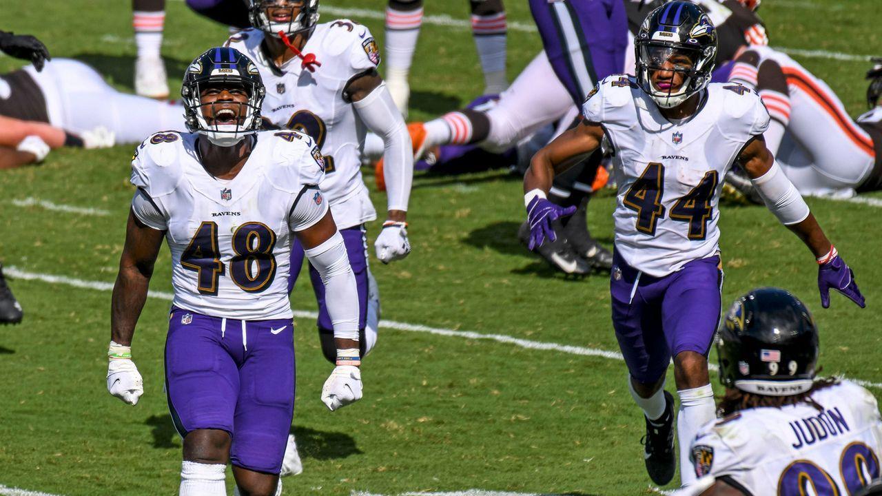 Patrick Queen (Linebacker, Baltimore Ravens) - Bildquelle: imago images/Icon SMI