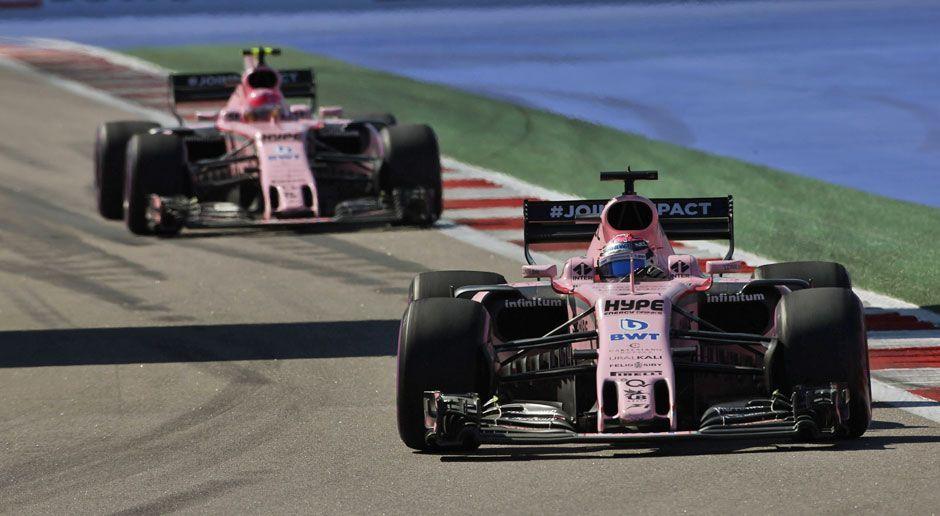 Platz 6: Force India - Bildquelle: imago/LAT Photographic