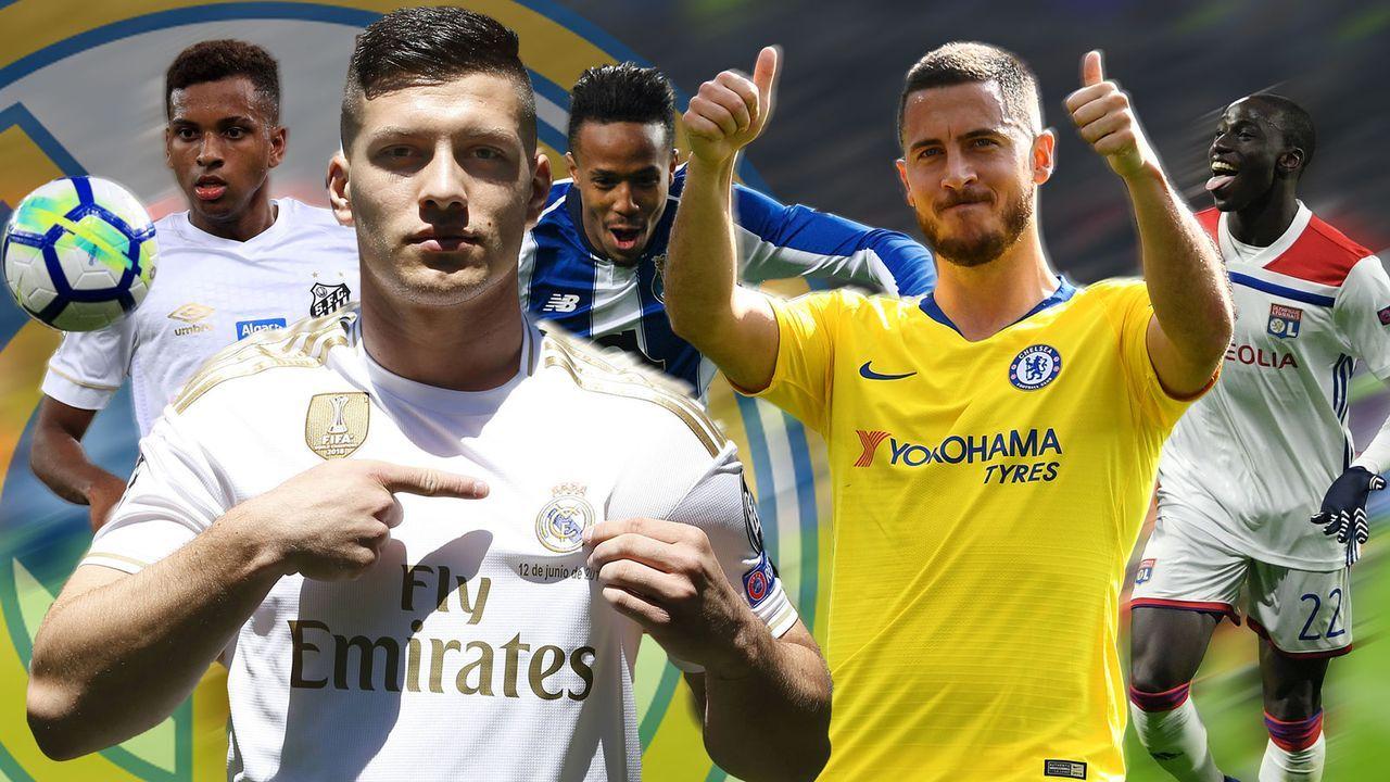 Transferweltmeister Real Madrid - Bildquelle: Getty Images/imago sportfoto