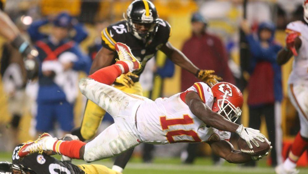 NFL-Star Tyreek Hill suspendiert - Bildquelle: PIXATHLONPIXATHLONSID