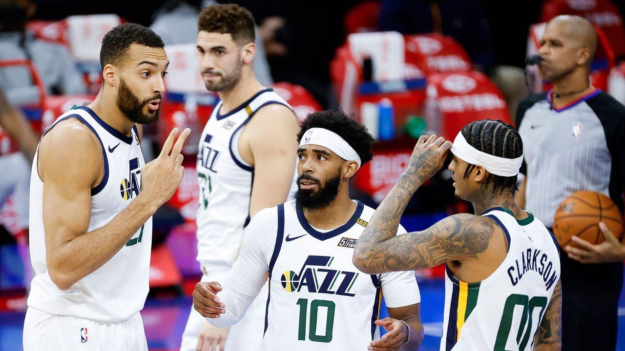 Western Conference - 1. Rang: Utah Jazz - Bildquelle: Getty Images