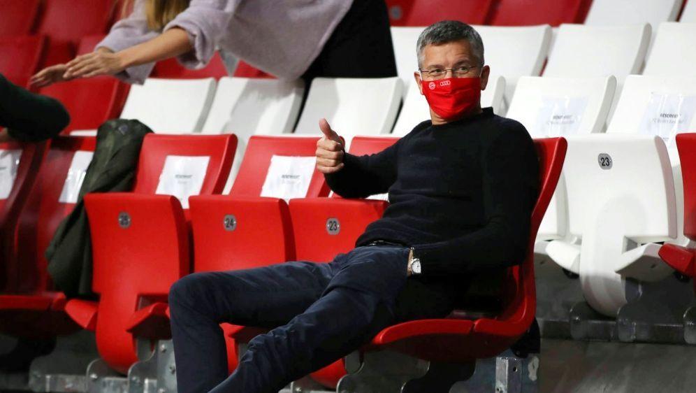 Bayern Münchens Präsident Herbert Hainer - Bildquelle: FIROFIROSID