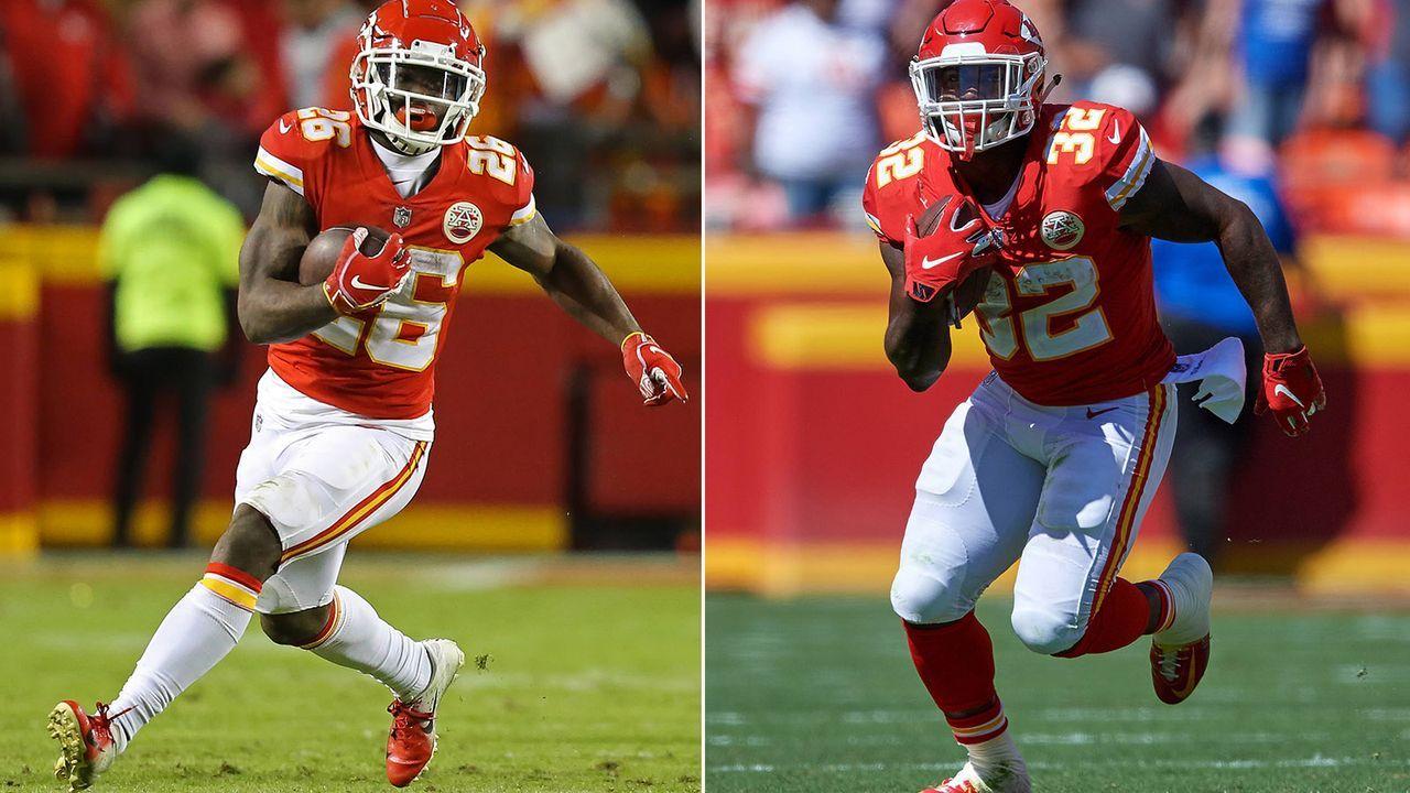 Spencer Ware und Damien Williams (Running Backs, Kansas City Chiefs) - Bildquelle: Imago