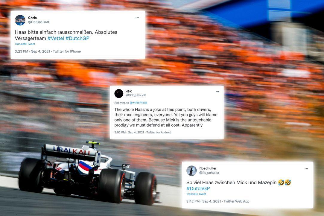 Team Haas wird immer mehr zu Team Hass - Bildquelle: imago images/Motorsport Images