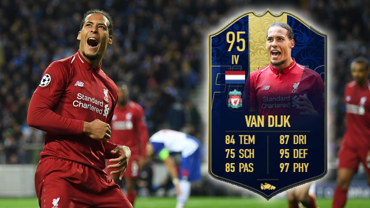 Innenverteidiger: Virgil van Dijk - Bildquelle: 2019 Getty Images/EA Sports