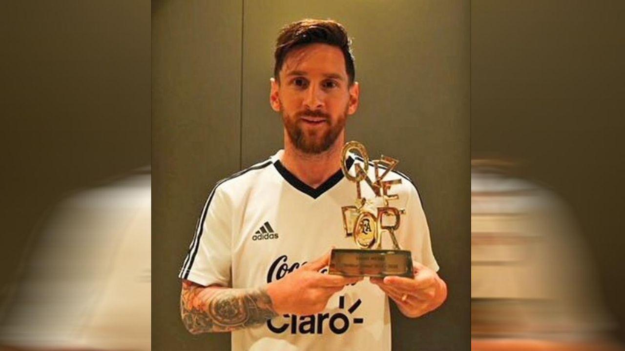 Platz 3: Lionel Messi (Fußball) - Bildquelle: instagram.com/leomessi