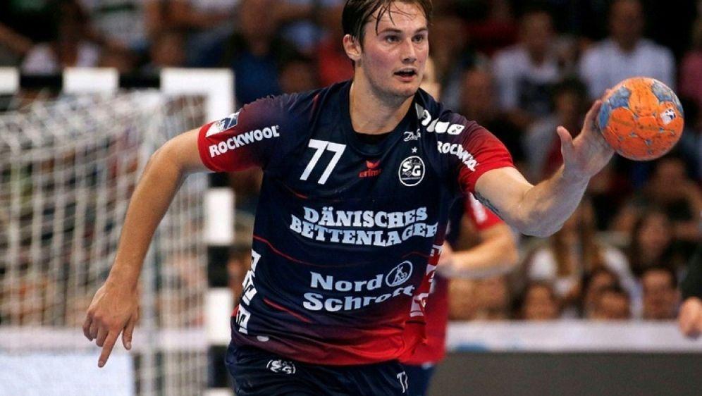 Erzielte drei Treffer für Flensburg: Magnus Röd - Bildquelle: PIXATHLONPIXATHLONSID