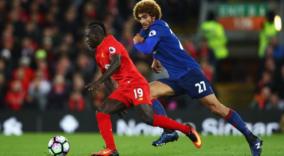 Marouane Fellaini Sadio Mane - Bildquelle: 2016 Getty Images