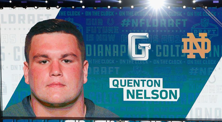 6. Quenton Nelson (Guard, Indianapolis Colts)  - Bildquelle: 2018 Getty Images