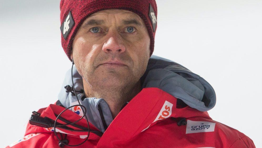 Das Team von Stefan Horngacher erreichte nur Rang fünf - Bildquelle: PIXATHLONPIXATHLONSID