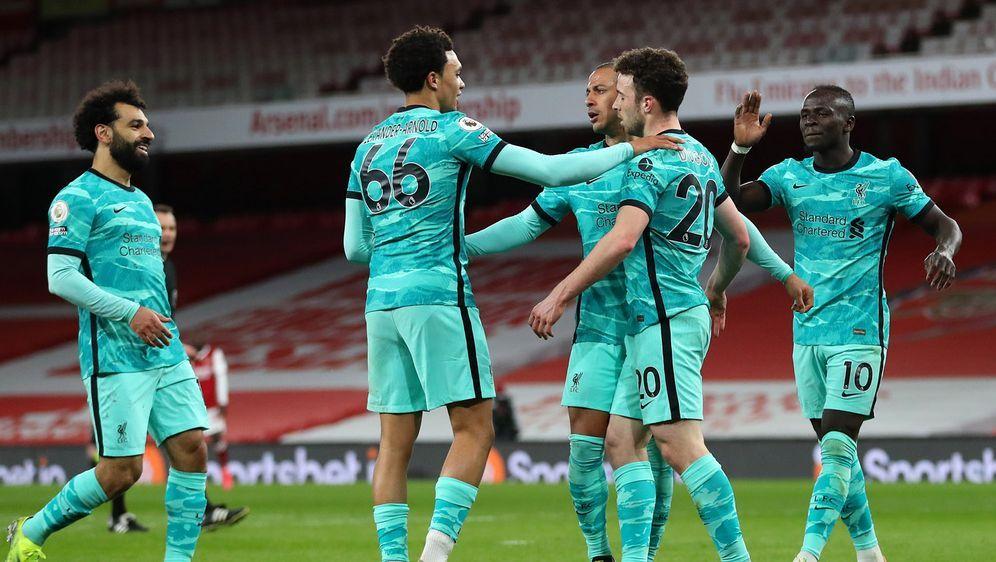 Der FC Liverpool besiegt Arsenal mit 3:0 - Bildquelle: 2021 Getty Images