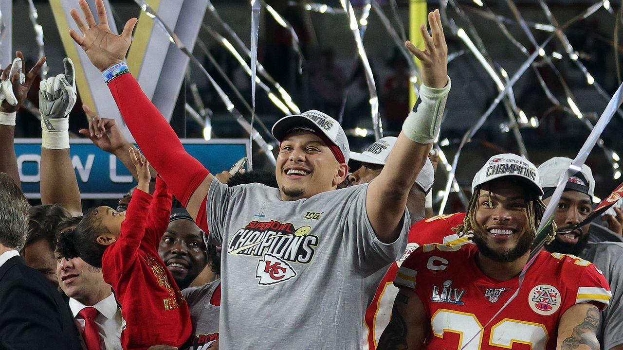 Platz 1: Kansas City Chiefs (1.) - Bildquelle: getty