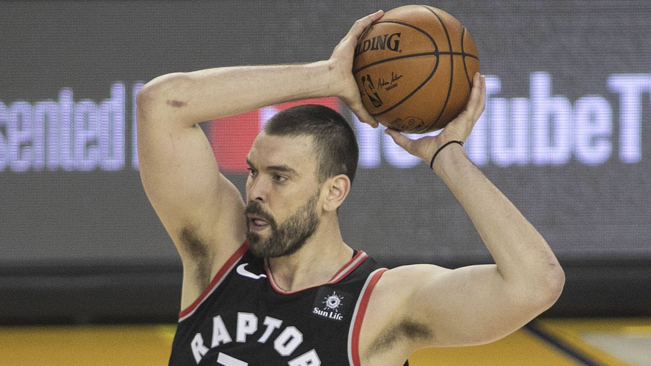 Platz 4: Marc Gasol (Toronto Raptors)                    - Bildquelle: imago images / ZUMA Press