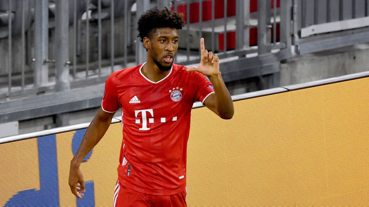 Angriff: Kingsley Coman (FC Bayern München) - Bildquelle: SVEN SIMON/Pool/Pressefoto Rudel