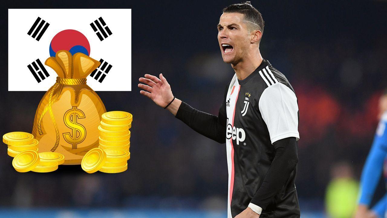 Kein Ronaldo-Auftritt im Testspiel: Südkorea-Fans bekommen Geld zurück - Bildquelle: Imago