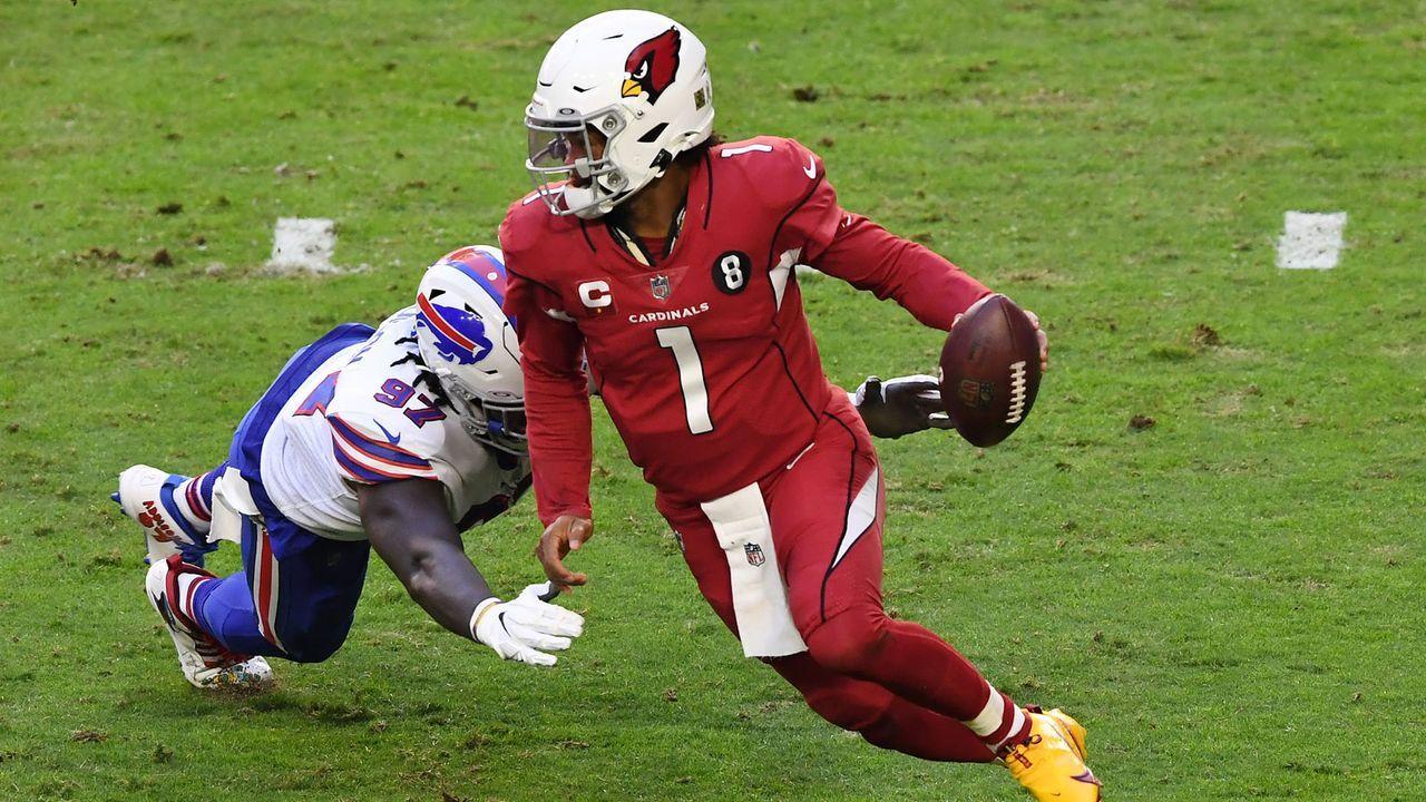 Platz 3: Kyler Murray - Arizona Cardinals (Letzte Platzierung: Nicht in den Top 10)