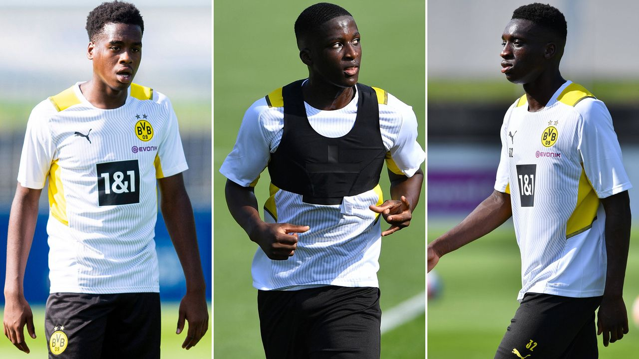 Kamara & Co.: Die BVB-Talente greifen an - Bildquelle: imago