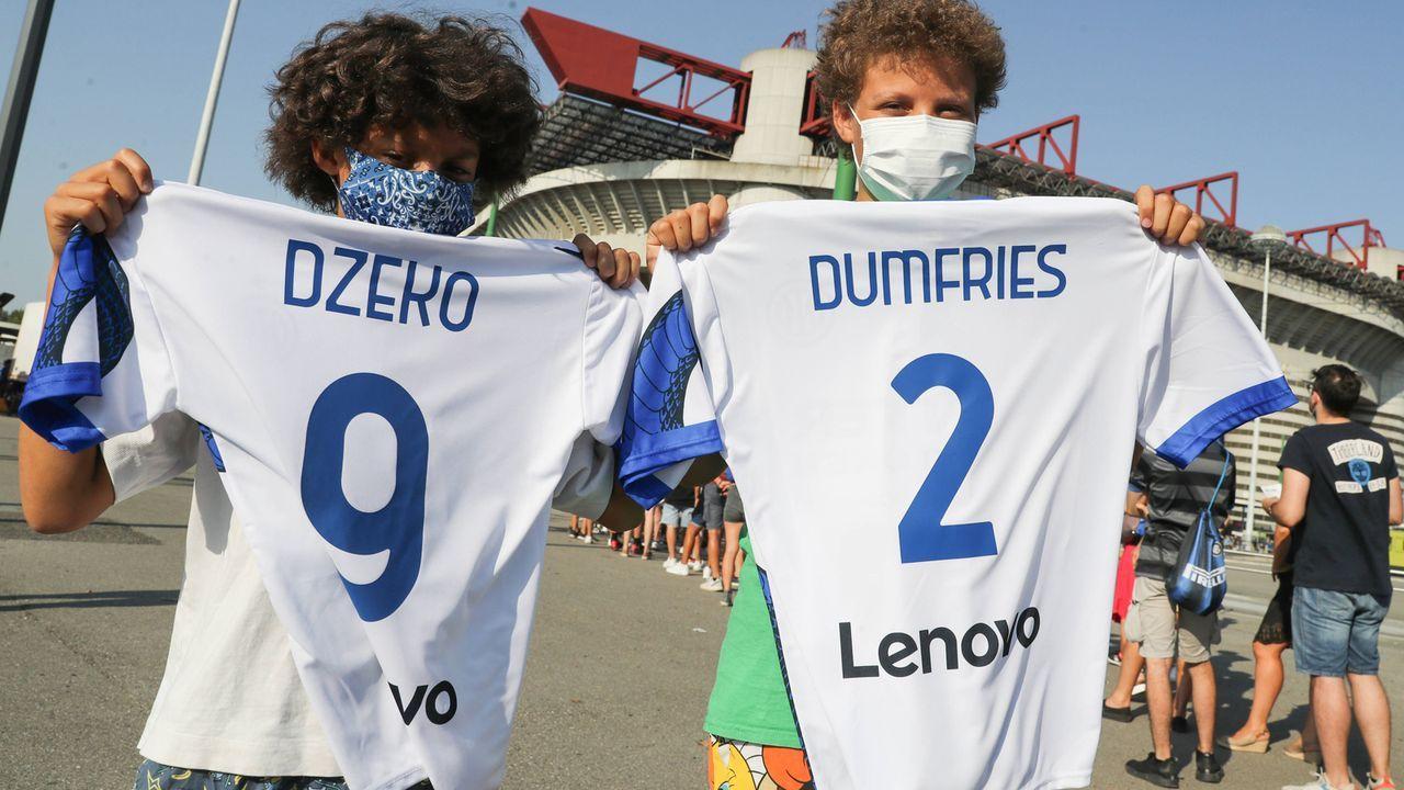 Platz 10: Inter Mailand - Bildquelle: imago images/Sportimage