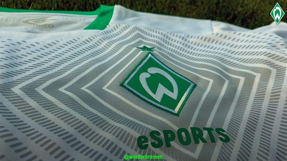 Trikot von Werder Bremen eSPORTS - Bildquelle: Twitter: werderbremen