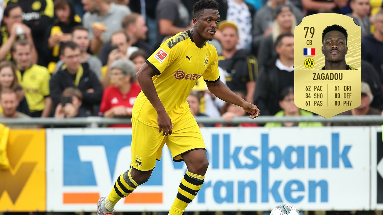 5. Dan-Axel Zagadou (Borussia Dortmund) - Bildquelle: 2019 Getty Images