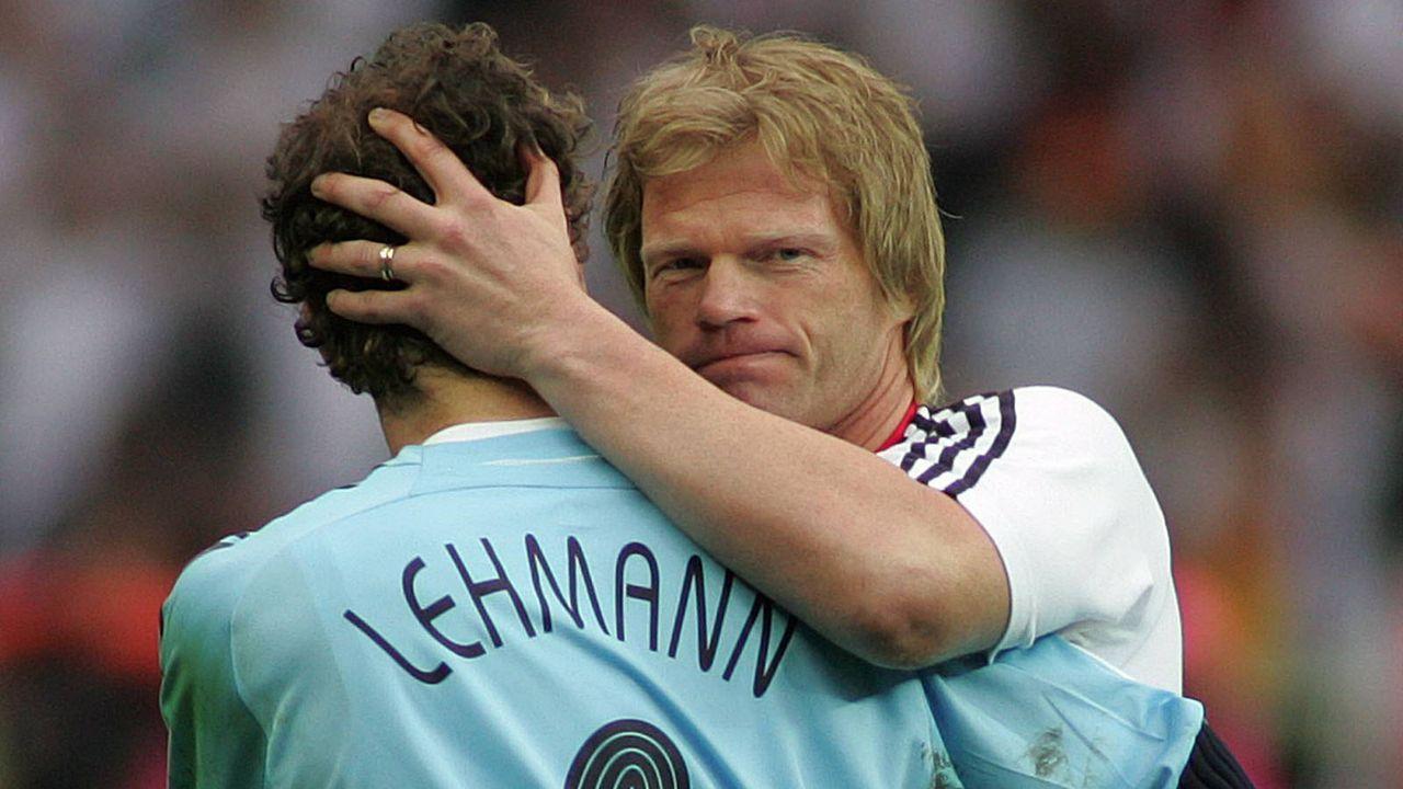 Kahns faire Geste gegenüber Lehmann