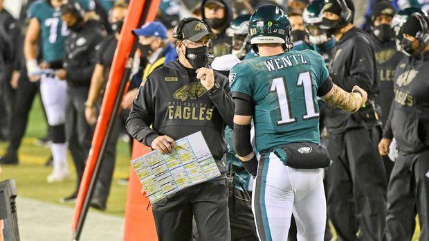 NFL-Insider: Carson Wentz und Doug Pederson sprachen wochenlang nicht miteinander - RAN