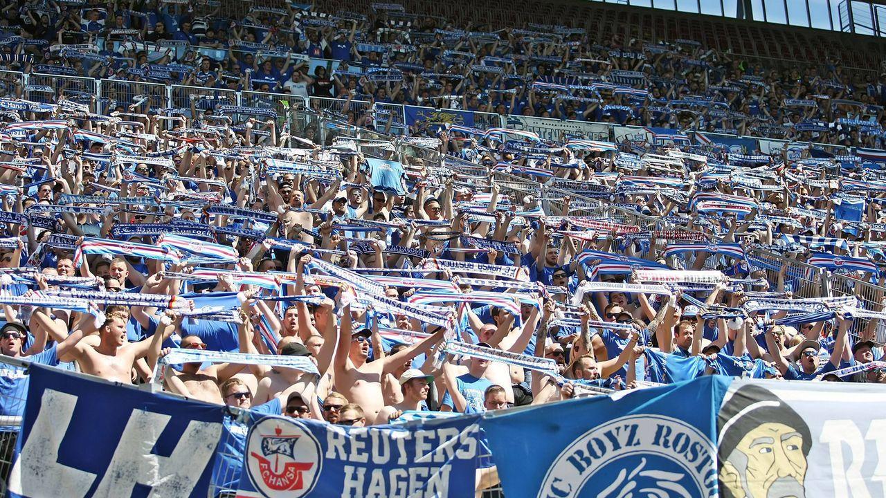 Platz 6: FC Hansa Rostock - Bildquelle: imago images / Jan Huebner