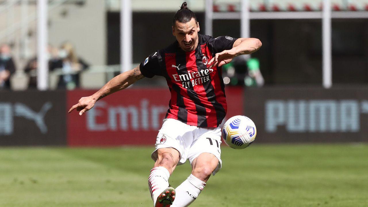 Zlatan Ibrahimovic (AC Mailand) - Bildquelle: 2021 Getty Images