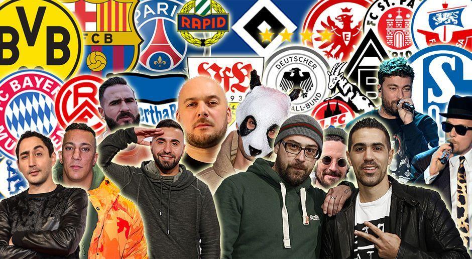 Rapper und Fußball