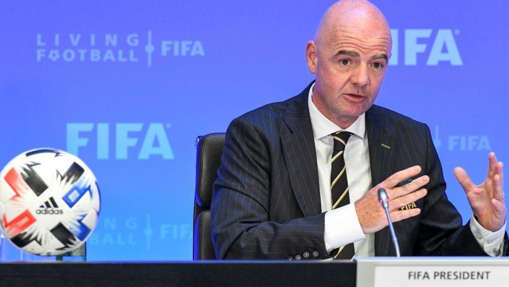 FIFA-Präsident Gianni Infantino erhält Rückendeckung - Bildquelle: FIFAFIFASIDHandout