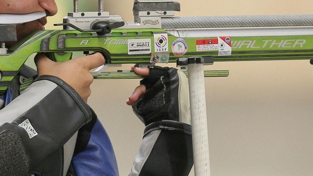 Sportschütze Shaner gewinnt Gold mit dem Luftgewehr - Bildquelle: AFPSIDLUKA GONZALES