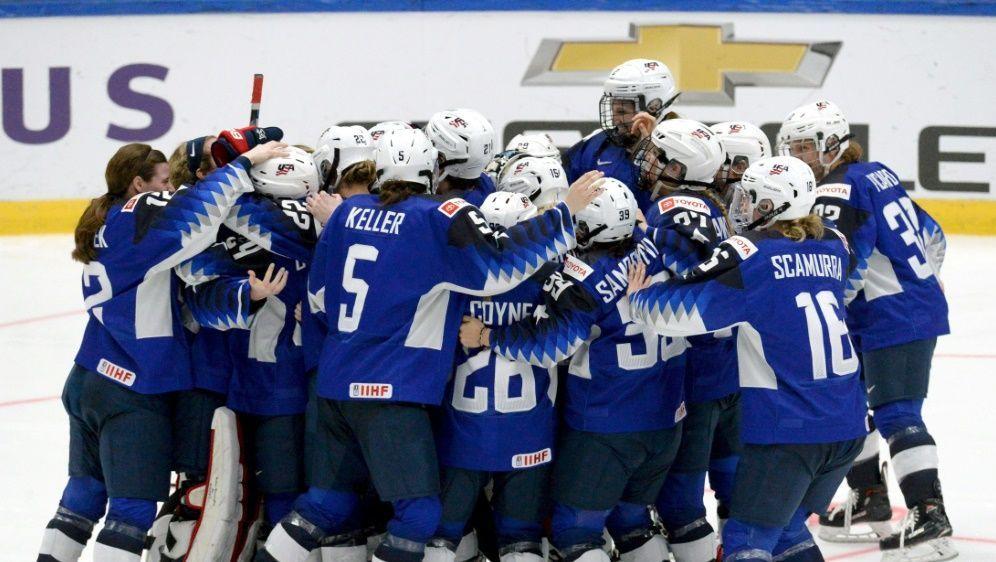 Die US-Frauen gewinnen zum neunten Mal die Eishockey-WM - Bildquelle: SIDSIDAFPMikko Stig