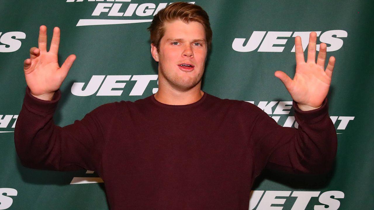 7. Sam Darnold (New York Jets) - Bildquelle: imago images / Icon SMI